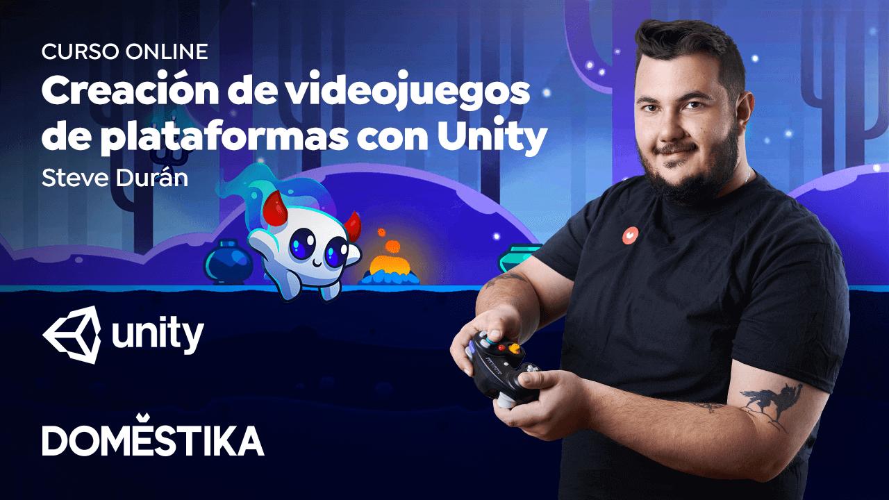 Creación de videojuegos de plataformas con Unity